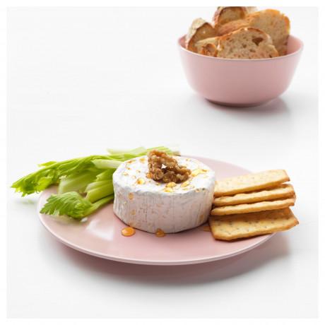 Тарелка десертная ДИНЕРА светло-розовый фото 5