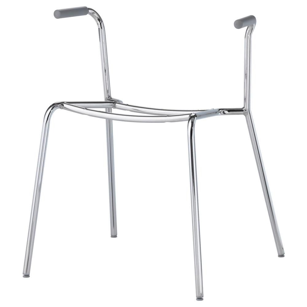 Основание д/стула с подлокотниками ДИТМАР хромированный  фото 1