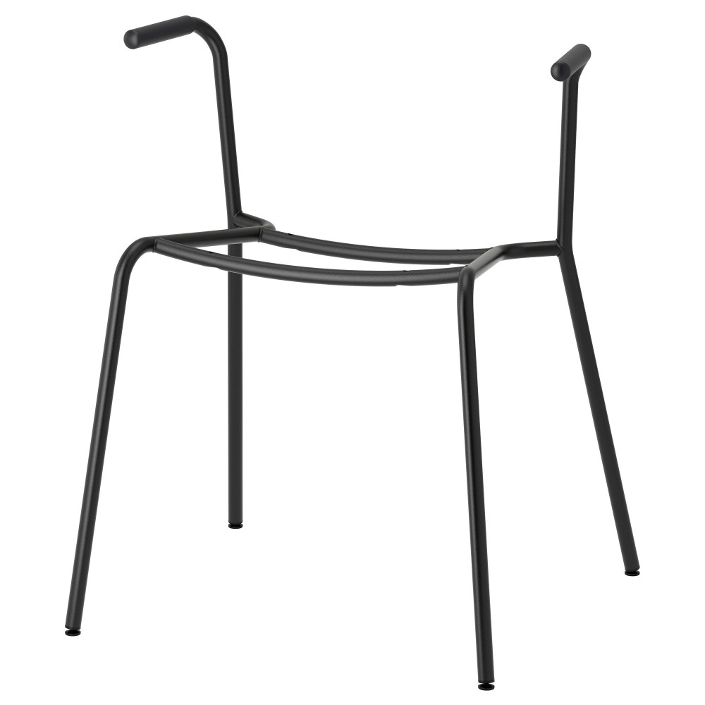 Основание д/стула с подлокотниками ДИТМАР черный  фото 1