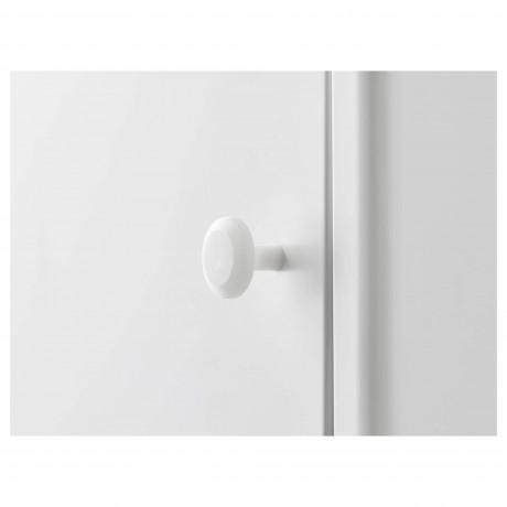 Шкаф с дверью ДИНАМ белый фото 4