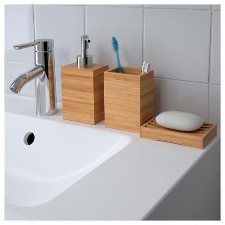 Дозатор для жидкого мыла ДРАГАН бамбук фото 5