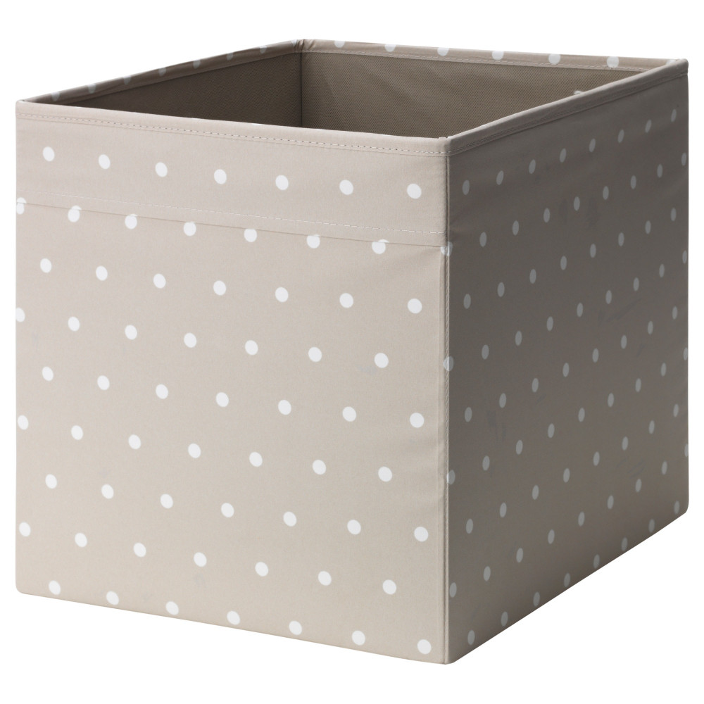 Коробка ДРЁНА бежевый, точечный  фото 1