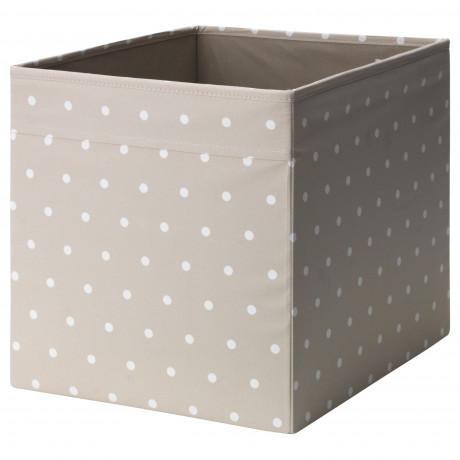 Коробка ДРЁНА бежевый, точечный фото 3