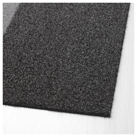 Придверный коврик ДЖЕРСИ темно-серый фото 5