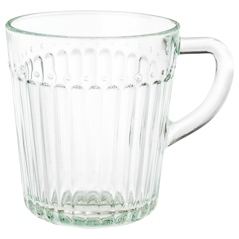 Кружка ДРЁМБИЛЬД прозрачное стекло  фото 1