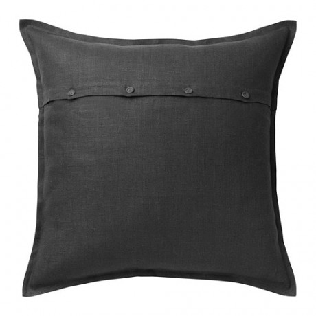 Чехол на подушку АЙНА темно-серый фото 0