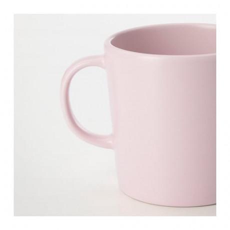 Кружка ДИНЕРА светло-розовый фото 4