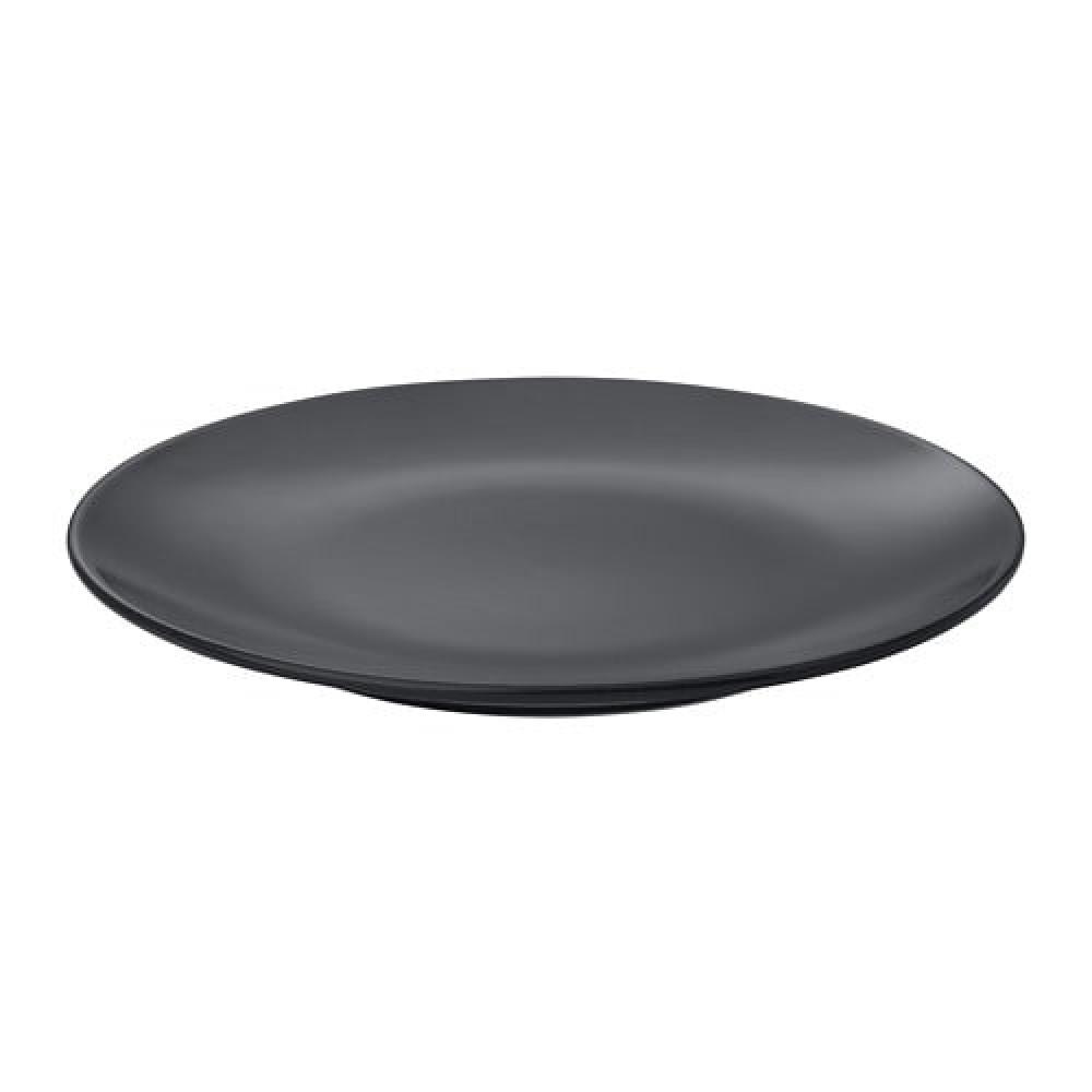 Тарелка десертная ДИНЕРА темно-серый  фото 1