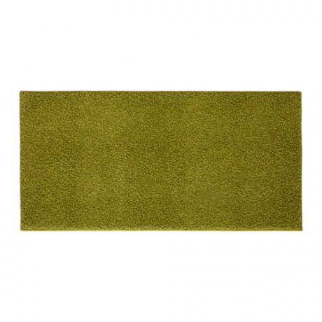 Ковер, длинный ворс АЛЛЕРСЛЕВ светло-зеленый фото 0